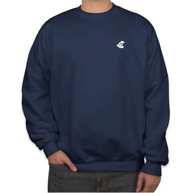 CREW NECK SWEATER - NAVY