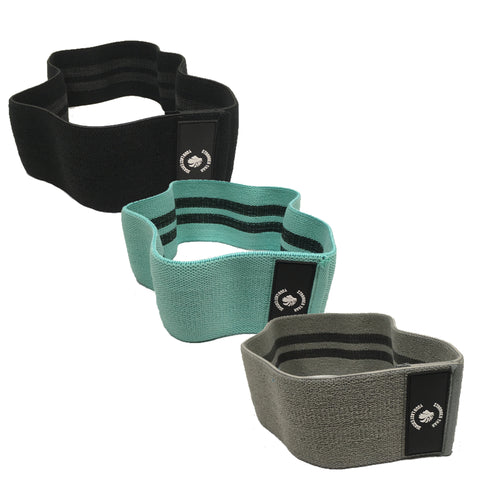 Anti-Slip Glute Band Set