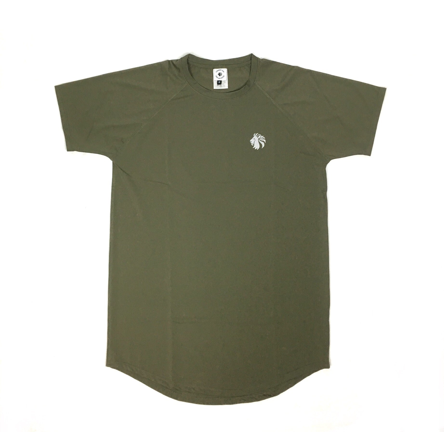 Perform Better Tee - Olive Smoke