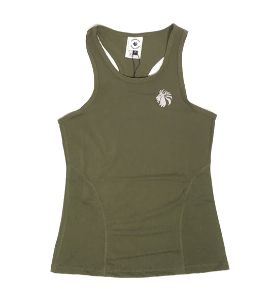 Breathe Easy Racerback - Olive Smoke