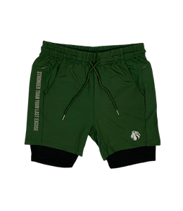 "Ambition Liner Short 5"" - Dark Military Green"