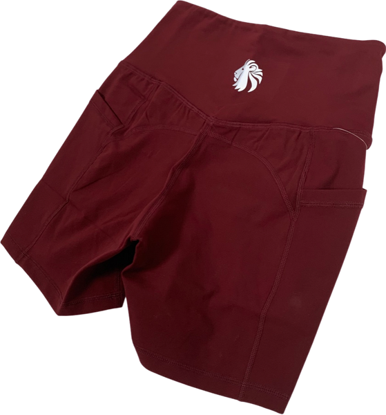 "Empower Shorts 5"" - Maroon"