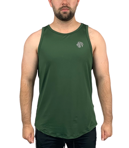 Ambition Training Tank - Dark Military Green