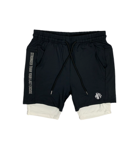 "Ambition Liner Short 5"" - Black"