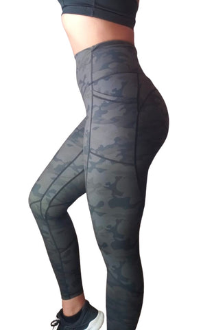 Empower Leggings - Army Camo
