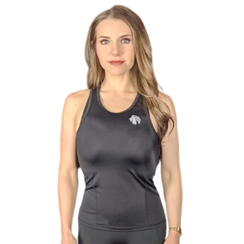 Breathe Easy Racerback - Black