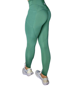 Heart And Soul Leggings - Forest Green
