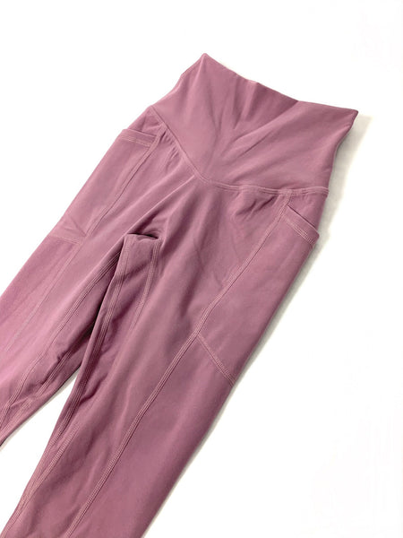 Heart And Soul Leggings - Dusty Rose (SIZE UP)