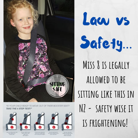 law versus safety for car seats