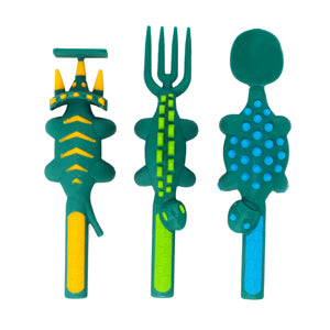 Constructive Eating - Dinosaur 3-Piece Cutlery