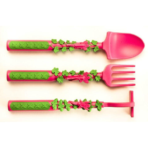 Constructive Eating - Garden Fairy 3-Piece Cutlery