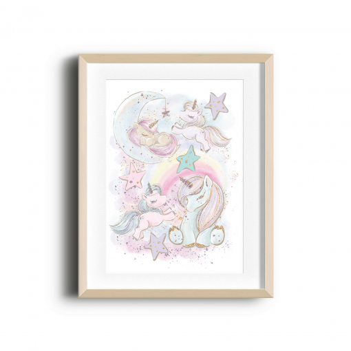 Unicorns Galore Print