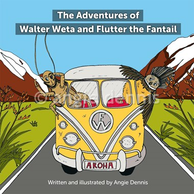 The Adventures of Walter Weta and Flutter the Fantail