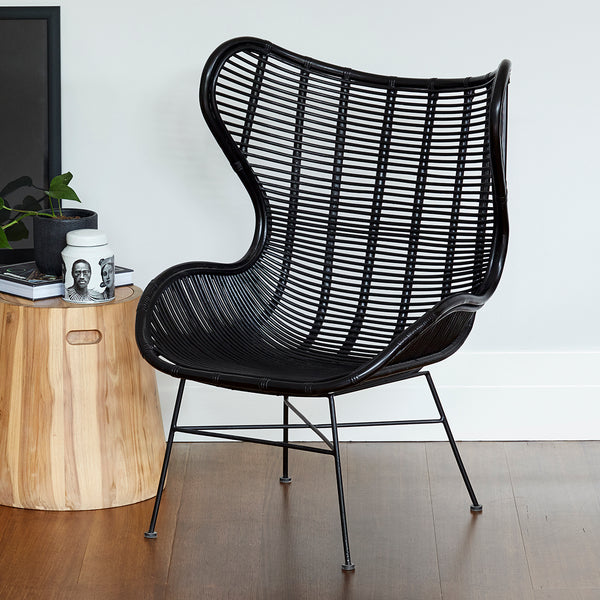 Boston Armchair - BLACK