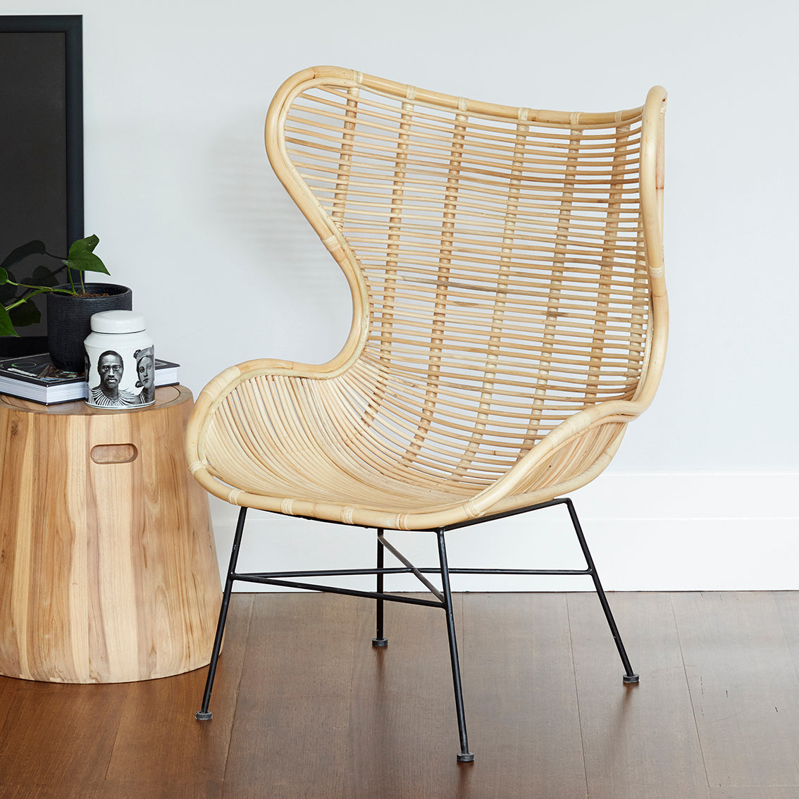 Boston Armchair - NATURAL
