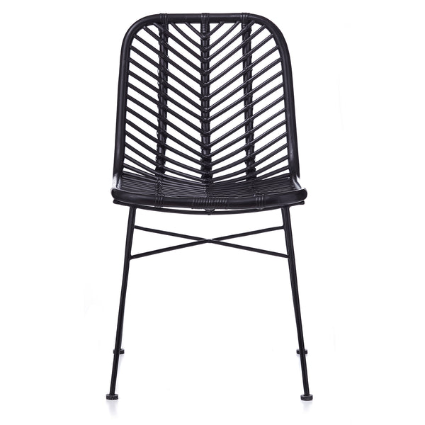 Regina Dining Chair - BLACK