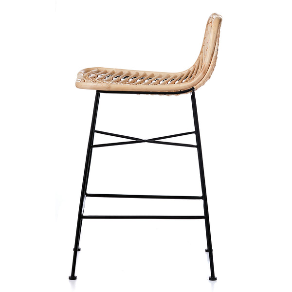 Regina Bar Stool -  NATURAL