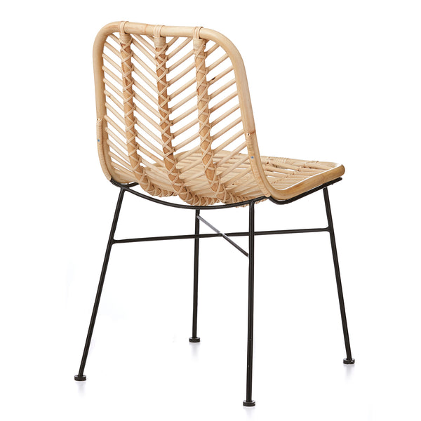 Regina Dining Chair - NATURAL
