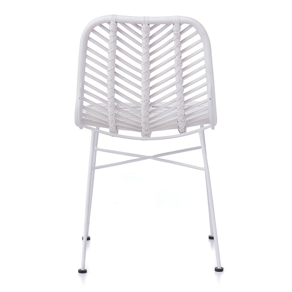 Regina Dining Chair - WHITE