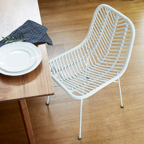 Copy of Copy of Regina Dining Chair - WHITE