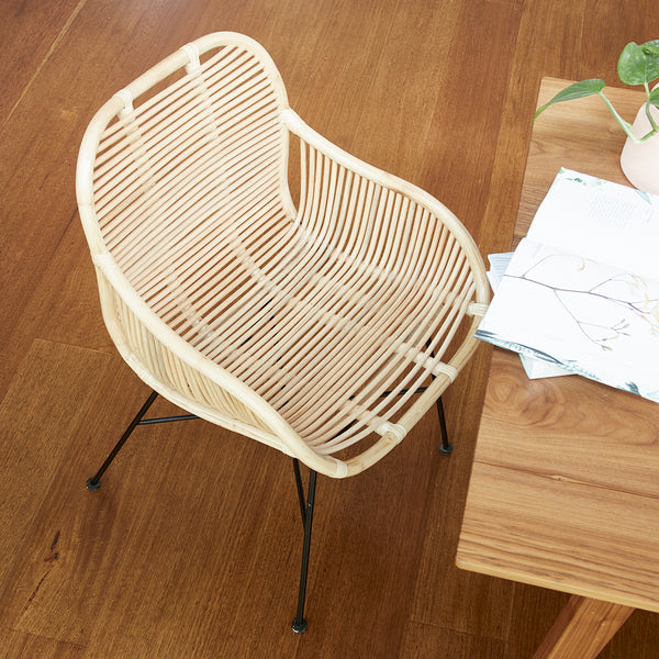 Sasha Dining Chair - NATURAL