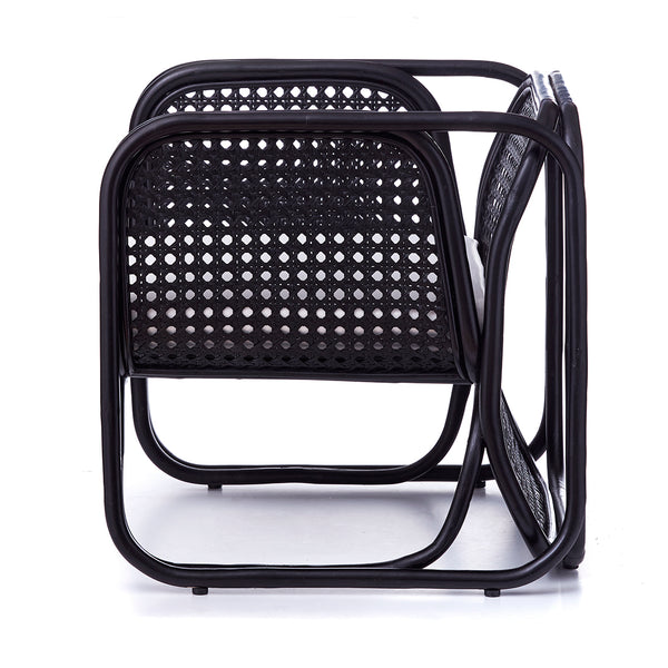Villa Armchair - BLACK