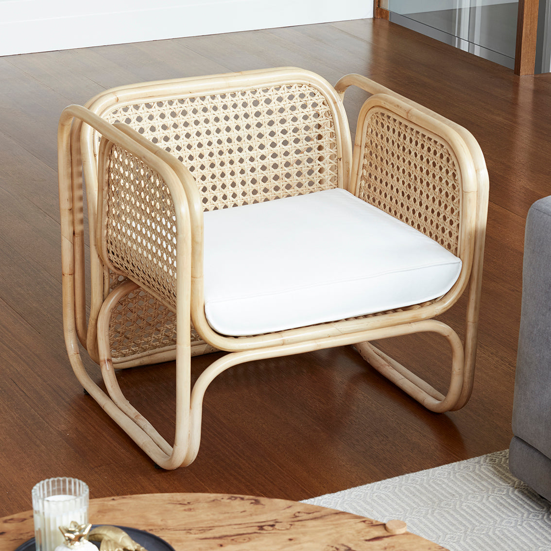 Villa Armchair - NATURAL