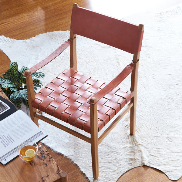 Von Dining Arm Chair - SUNSET TAN