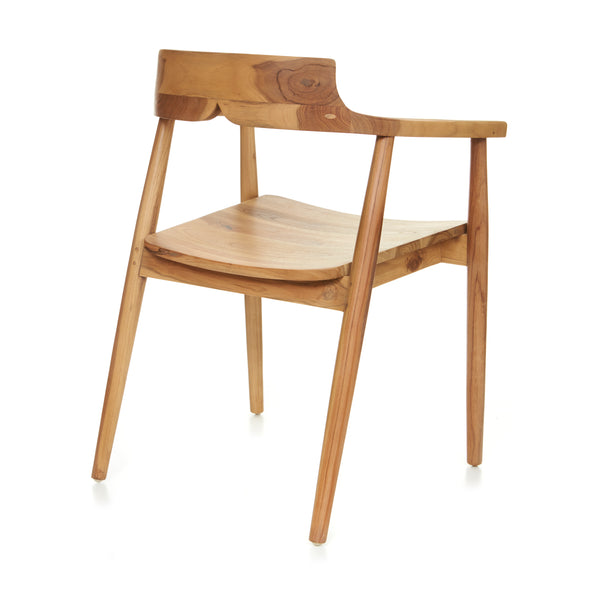 Amelie Dining Arm Chair - NATURAL