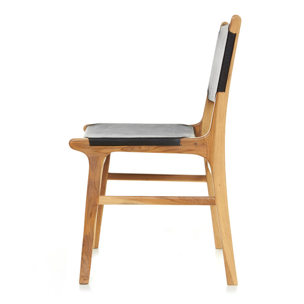 Olivia Dining Chair - Flat - BLACK - LAST ONE