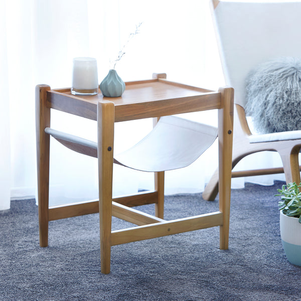 Kitt Side Table - WHITE