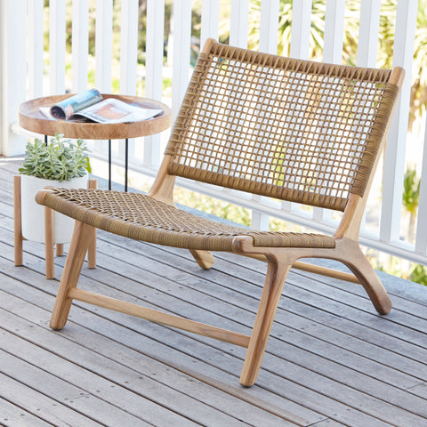 Sienna Low Chair - SYNTHETIC RATTAN
