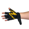Womens Gloves Leopard Medium