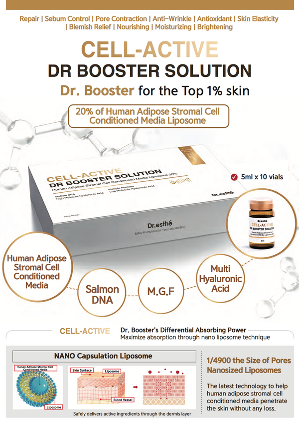CELL-ACTIVE DR BOOSTER SOLUTION 5ML SINGLE VIAL