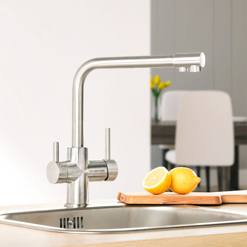 SAN Inox - All-in-one Faucet  (Stainless Steel Faucet) with Water Filtration