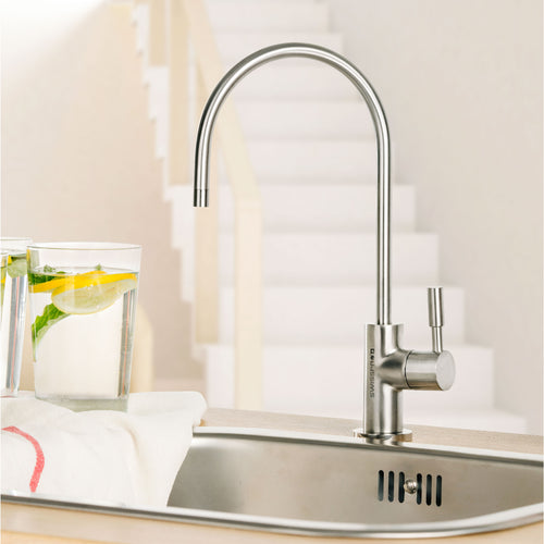 SMART Inox - Separate Drinking Tap (Stainless Steel Tap) with Water Filtration
