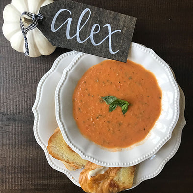 Simple and Clean Tomato Soup Recipe