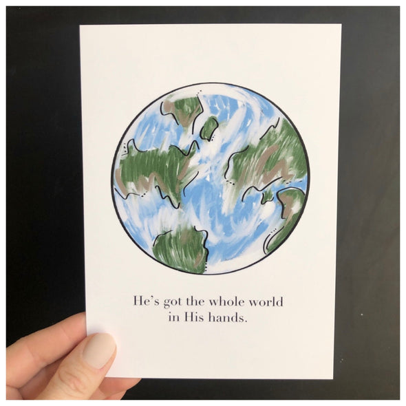Whole world print