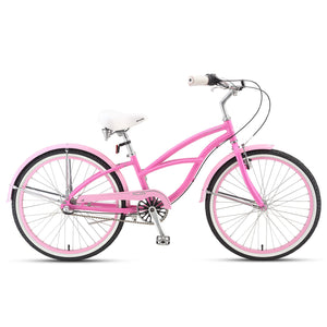 "Sorrento 24"" 3-Speed Bubble Gum Pink"