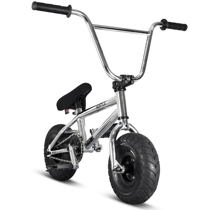 Hustle Mini BMX Chrome