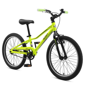 "XLITE 20"" Boys Coaster Lime Green"
