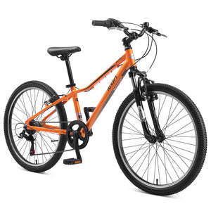 "XLITE 24"" Boys 7-Speed Orange Lava"