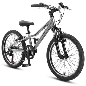 "XLITE Boys 7-Speed 20"" Stainless Night"