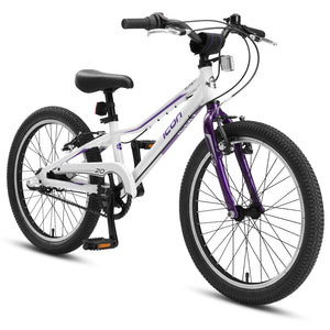 "XLITE Girls 3-Speed 20"" White Violet"