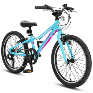 "XLITE Girls 7-Speed 20"" Rosa Blue"