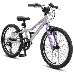 "XLITE Girls 7-Speed 20"" Silver Lavender"