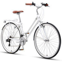 Eden Commuter Alloy Pearl White