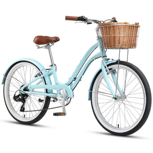 "Sorrento 24"" 7-Speed Pale Blue"
