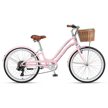 "Sorrento 24"" 7-Speed Blush Pink"