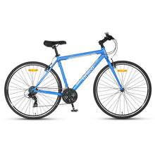 FB100 Flat Bar Road Bike - Matt Blue